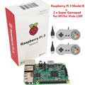 Raspberry pi 3 Model B with Wifi & Bluetoothal Raspberry Pi 3 Model B +2 x Raspberry PI USB Gamepad