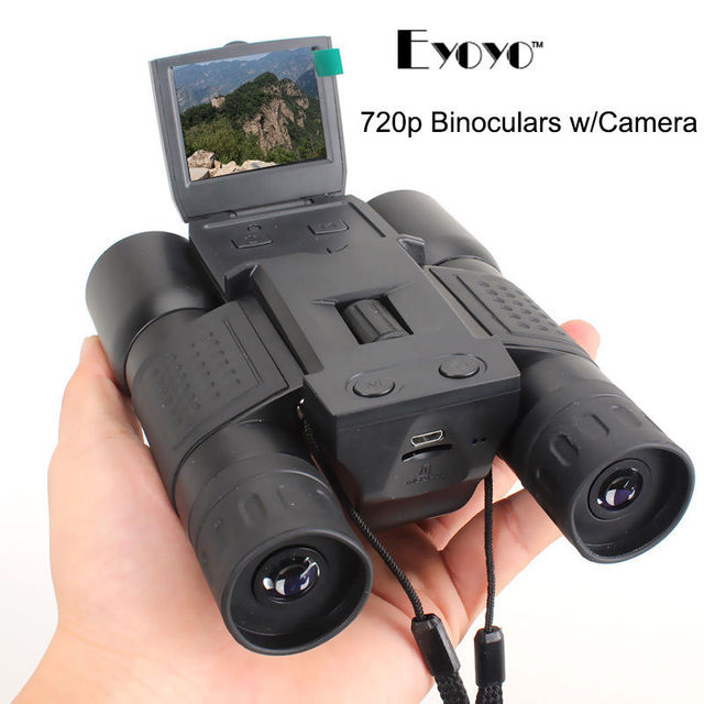 HD 720P 12X32 Zoom Digital Binoculars Telescope Video Camera