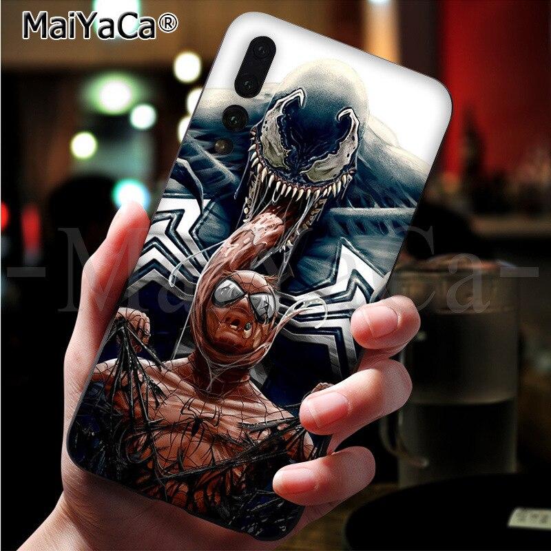 MaiYaCa Marvel Deadpool Venom Villain Super Hero Phone Cover For ...