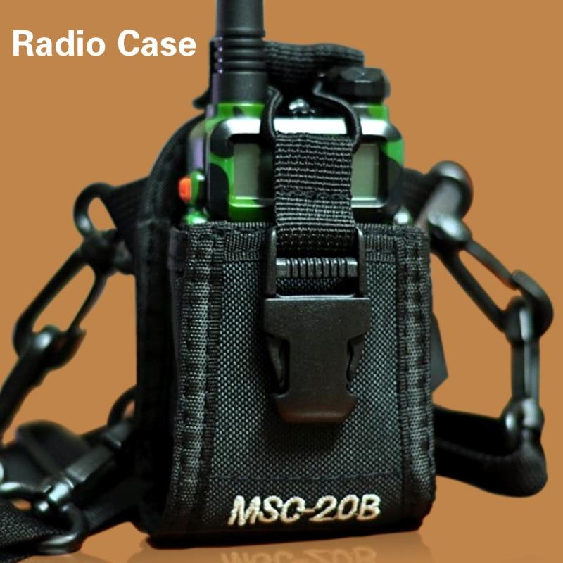 Multi function Radio Case Holder Walkie Talkie Portable Protection Package for baofeng Kenwood Yaesu Icom Most