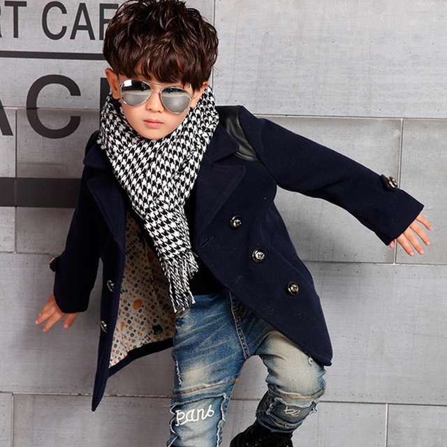 e856bfcb815a 2016 Winter High Quality Kid Boy Designer Coat Children s Jacket ...