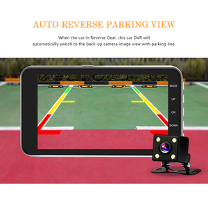 Image 4 - Dash Cam Dual Camera Lens Full HD 1080P Car DVR Vehicle Rearview Camera Night Vision Video Recorder G sensor Parking Monitor