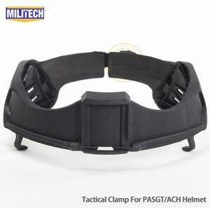 Image 2 - MILITECH NIJ IIIA 3A Tactical Bulletproof Visor for Helmet Ballistic Visor Bullet Proof Mask for ACH PASGT Ballistic Helmet