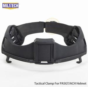 Image 2 - Militech nij iiia 3a 헬멧 탄도 바이저 용 전술 방탄 바이저 ach pasgt 탄도 헬멧 용 방탄 마스크