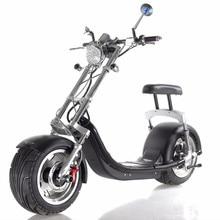EXPORTSAFE аккумулятор EcoRider два сиденья Harley электрический скутер Мотор город Коко 1200 Вт Электрический скутер