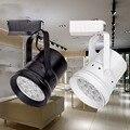 Alta Potência LEVOU Luz Pista 7 W/12 W/18 W trilha De Alumínio Ferroviário Holofotes Lâmpada para Loja e Escritório Comercial Casa iluminação