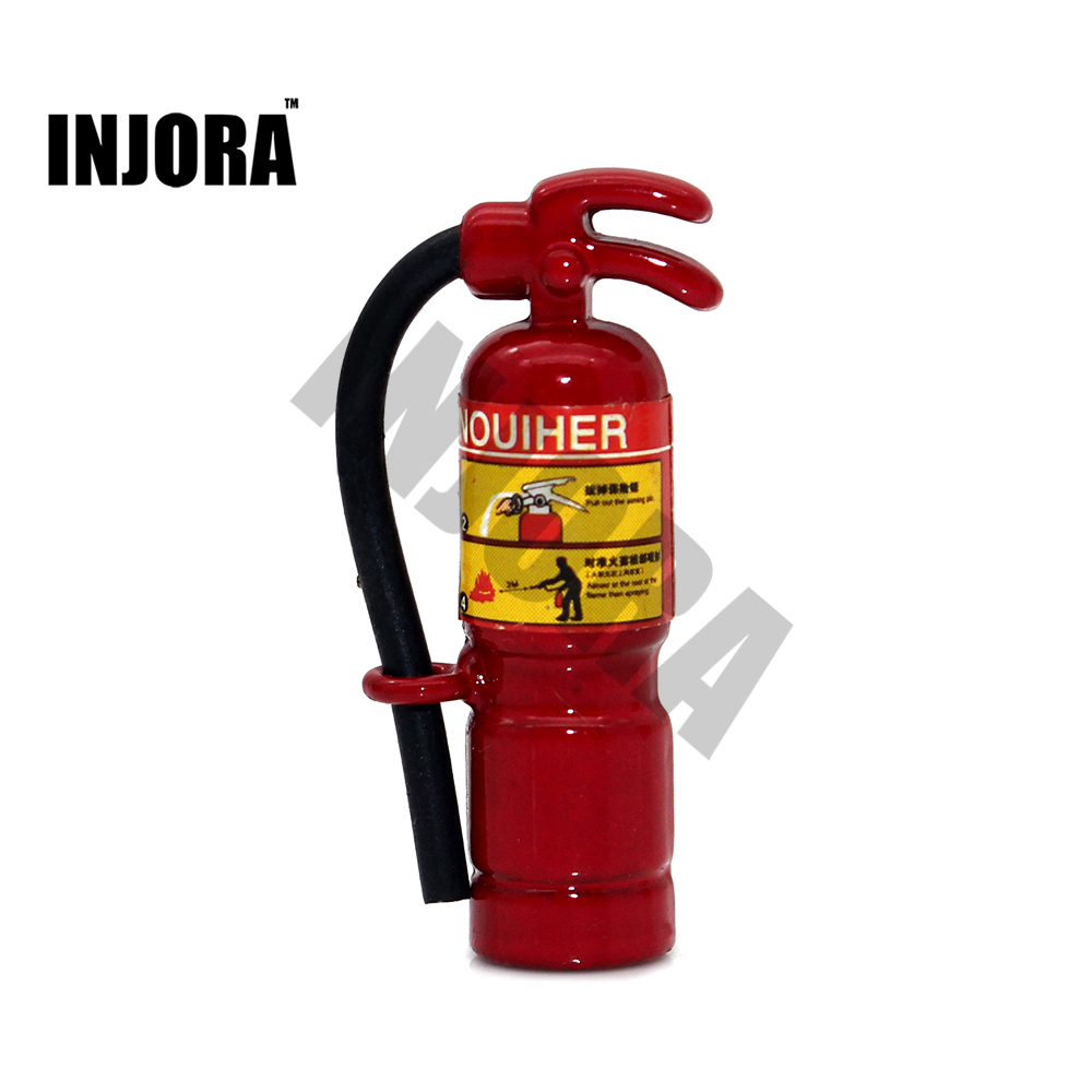 RC Rock Crawler 1:10 Accessories Metal Fire Extinguisher For Axial Wraith SCX10 90046 D110 TRAXXAS TRX-4 TAMIYA CC01 D90