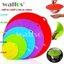 Conjunto de 5 silicone WALFOS tampa tigela de Microondas cozinha pot pan lid Cover-embrulhar alimentos cozinhar ferramentas de cozinha de Silicone utensílio(China (Mainland))