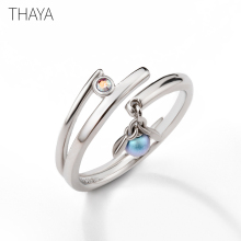 Thaya Midsummer Night's Dream Design Rings Vintage Colored Pearls S925 Sterling Silver Jewelry Ring For Women александра копецкая иванова душа денег