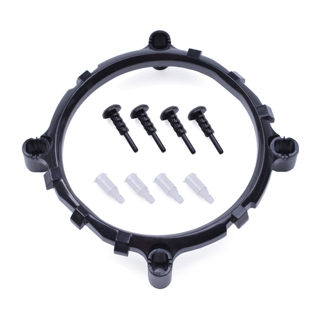 Image 5 - NOYOKERE באיכות גבוהה שולחן עבודה 3in1 מעבד למעבד מאוורר סוגר בעל גוף הקירור בסיס עבור LGA1150 1156 1155 775 1366cpu cooler fancooler fanfan bracket -