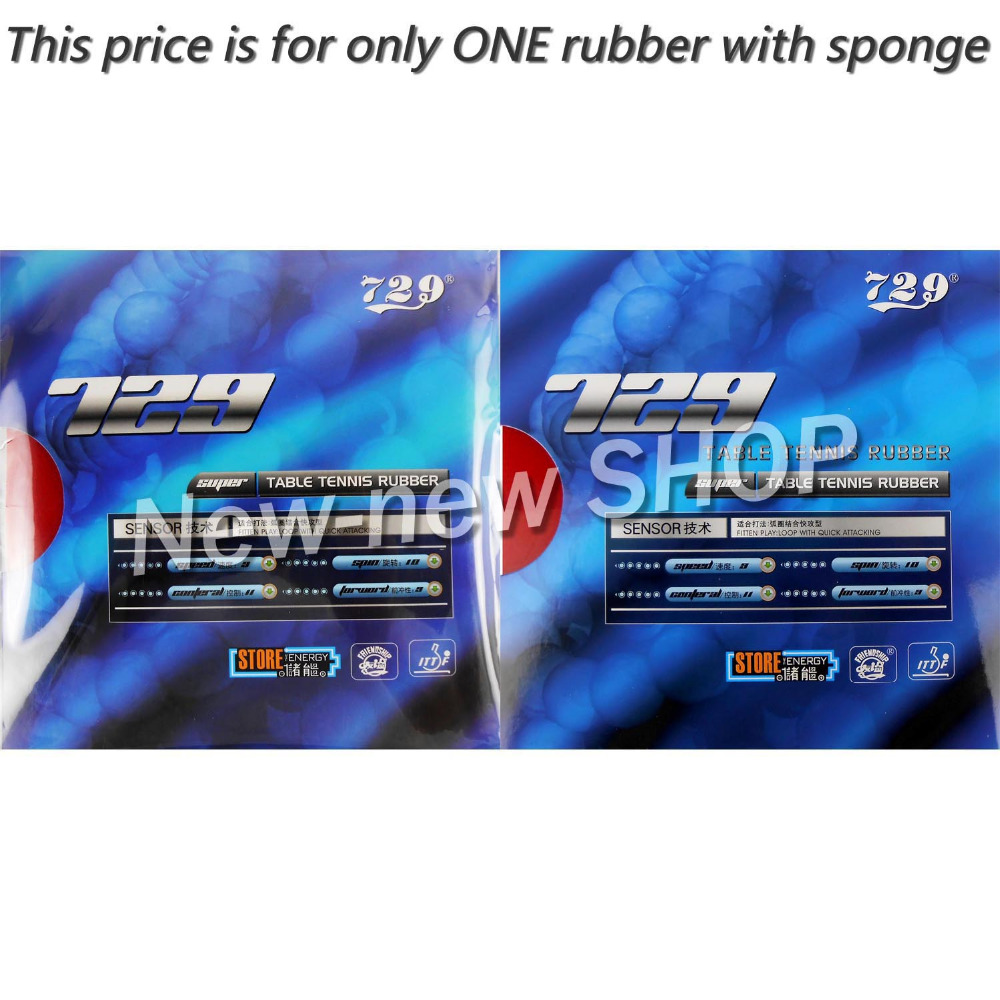 729 SUPER FX-729 GuoYuehua Pips-In Table Tennis PingPong Rubber With Sponge