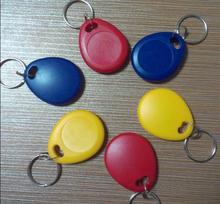 250 khz Thẻ RFID Có Thể Ghi Proximity Keyfobs Tần Số Offset ID Card Cho Access Control