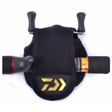 DAIWA Baitcasting Fishing Reels Cover Protective Case Bait Casting Reel Wheel Pouch Lure Rock Fishin