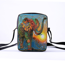 CROWDALE Women Messenger Bags 3D-Printing Animal Photo Shoulder Bag Handbags Cute elephant Messenger Bag Children Crossbody bag гарнитура bluetooth sony xperia ear моно черный [xea10]