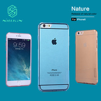 Nilkin For Apple IPhone 6 6s Case NILLKIN Ultra Thin Transparent Nature TPU Cases For Iphone