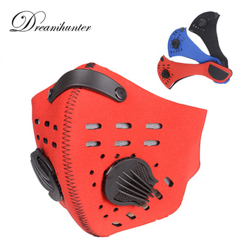 Breathable Bicycle Mask Anti-Dust Smog MTB Road Bike Cycling Windproof Face Cover Protector Cycling Half Face Masks