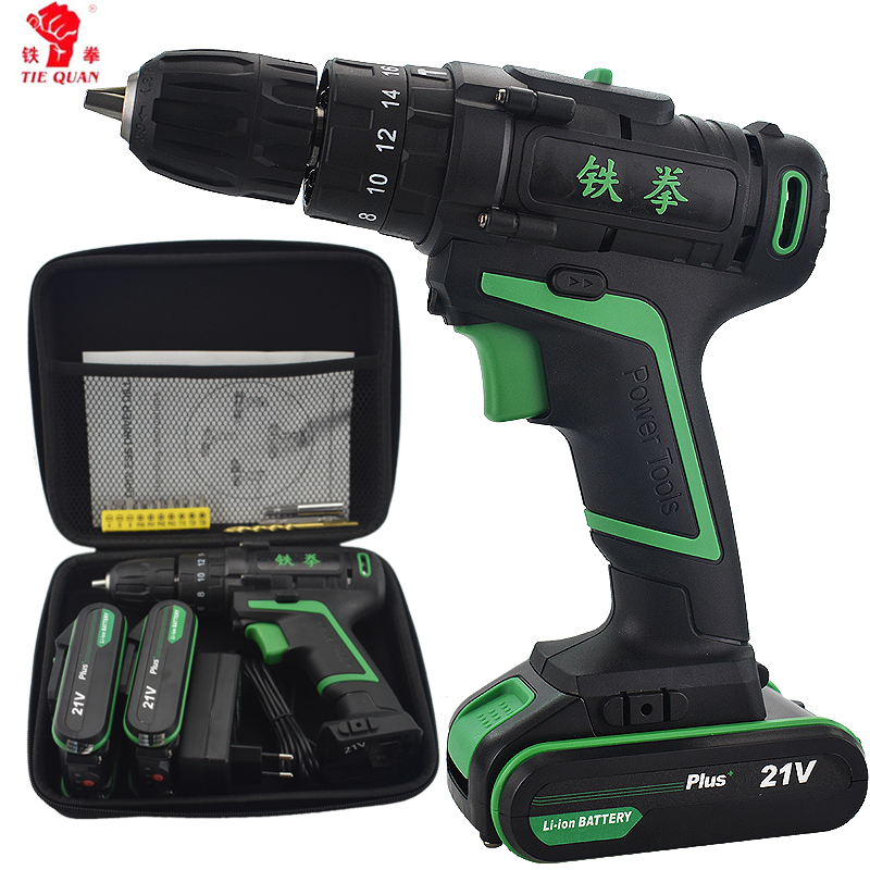 21V New Style Battery Drill Home Diy Power Tools+Woven bag Impact Drill Electric Screwdriver Electric Hand drill Cordless Hammer21V New Style Battery Drill Home Diy Power Tools+Woven bag Impact Drill Electric Screwdriver Electric Hand drill Cordless Hammer