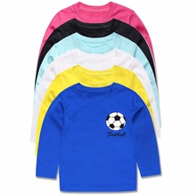 Full Sleeve Baby Boys T Shirts Kids Spring Autumn Football T