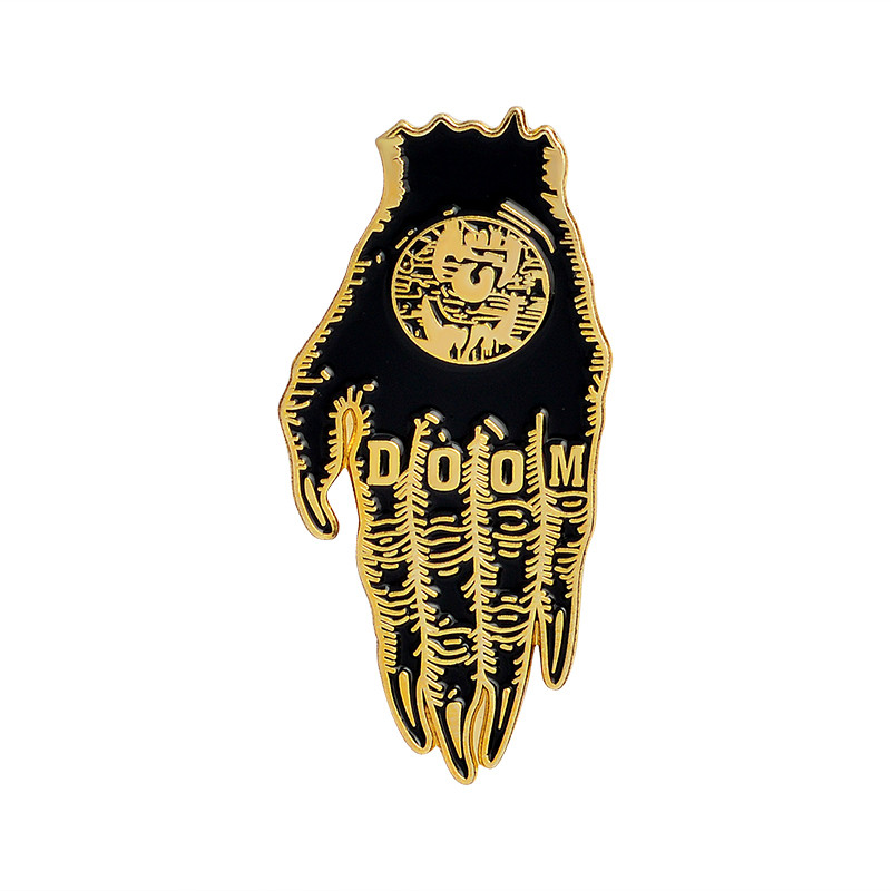 Hand of Doom Enamel Pin