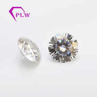 factory price IJ color 1.5ct 7.5mm clarity VVS1 VVS2 excellent brilliant cut look like cvd loose diamond moissanite for jewelry