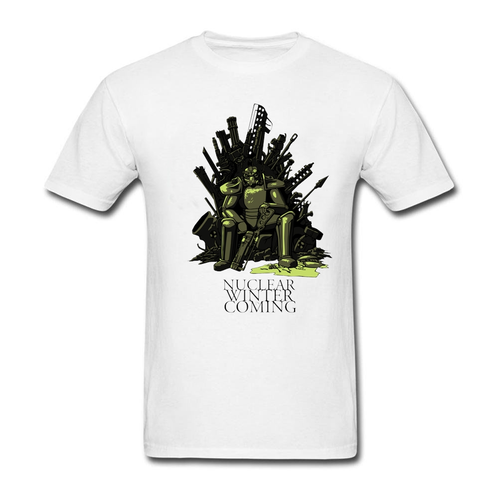 Fashion Geek Tee Nuclear Winter Is Coming Mens Designer T Shirts