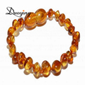 DUOYING Brand Hot Selling High Quality Jewelry Lovely Gift Natural Ambar Stone Teething Bracelet For Little Baby