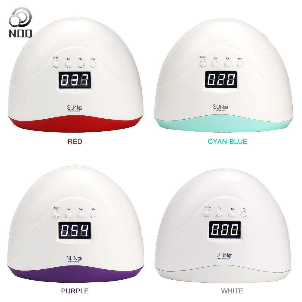 NOQ Lampe Für Nägel Sun1s Maniküre Maschine UV FÜHRTE Nagel Lampen Gerät Smart 48 watt Aushärtung Lichttherapie Nagel Trockner polierer