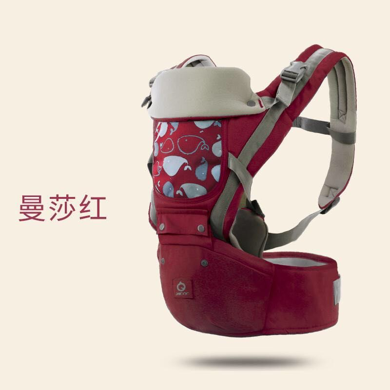 New 3 In 1 For 0-24m Infant Toddler Ergonomic Baby Carrier Sling Backpack Bag With Hip Seat Wrap Newborn Waist Stool Belt