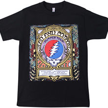 bfe7c5cdbe08 GRATEFUL DEAD   COMPANY Summer 2017 TOUR T-SHIRT Small Concert John Mayer  NWOT 100