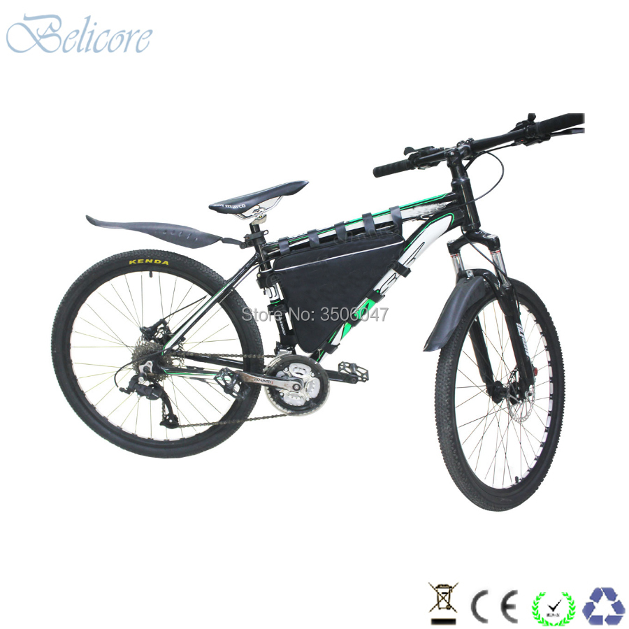 Perfect free shipping 48v 1500w electric bike li-ion battery 48v 30ah triangle ebike battery 48v 31.5ah with 4A charger 5