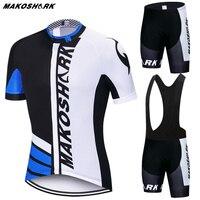 TUBARÃO Mako Pro camisa De Ciclismo Definir bicicleta De montanha De Verão Roupas Pro Bicicleta Sportswear camisa De Ciclismo Terno Maillot ropa ciclismo|Kits ciclismo| |  -