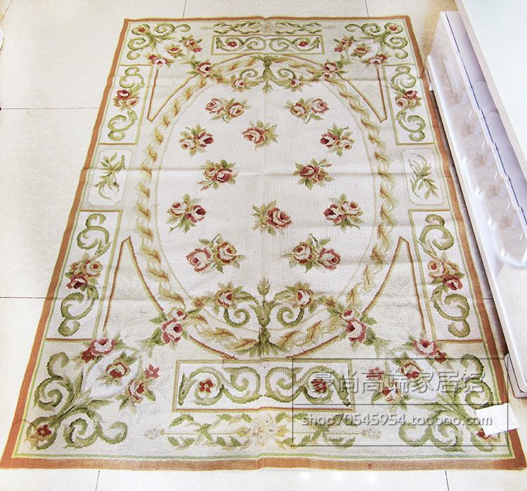 Tapis brodé en peluche à la main en laine brodée haute qualité chambre tapis salon tapisserie 62c149yg4
