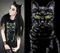 Горячие Продаж 2016 Новый Короткий Рукав Фитнес Животных Печатных Черная Футболка Женщины 3D Cat Кролик Летние Белые Рубашки 5 Моделей