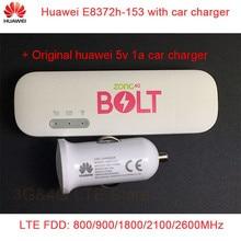 Модем USB huawei E8372h-153 с Автомобильное зарядное устройство 4 г LTE + Wi-Fi Dongle GSM