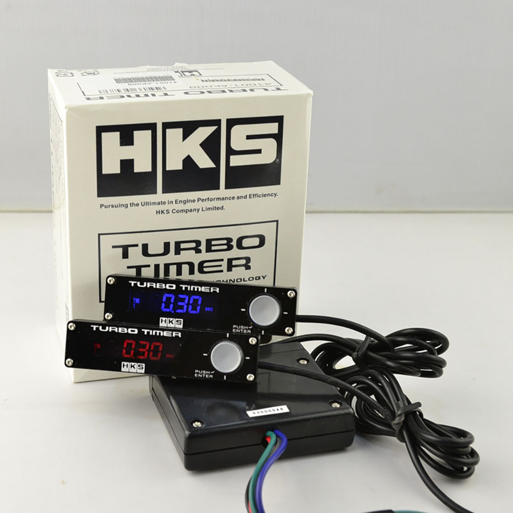 Universal Hks Red Led Display Car Turbo Timer Type 0 Fit For All Models Cars Ln Pumps (water)