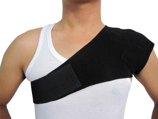Aliviar El Dolor de hombro Masaje de Calentamiento Espontáneo Terapia Magnética Del Hombro Protección Calefacción Turmalina Calefacción Cinturón