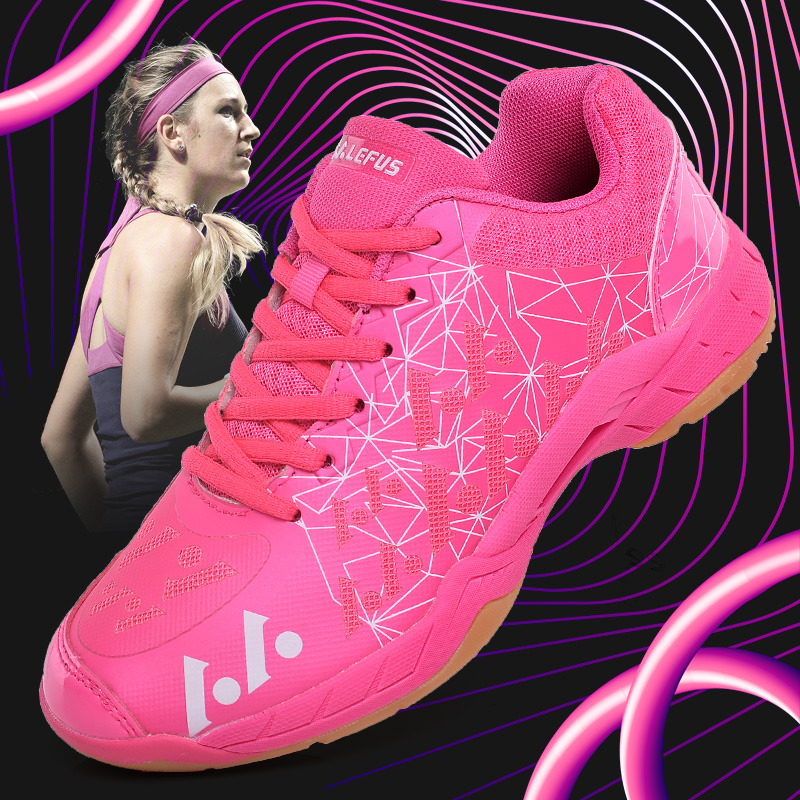 Super Cool Badminton Gym Shoes Women Indoor Children Sports Shoes Brand Table Tennis Training Ladies Shoes Badminton Sneakers professional cushioning volleyball shoes unisex light sports breathable shoe women sneakers badminton table tennis shoes g364