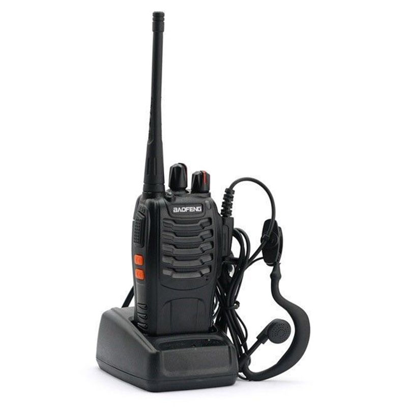 Baofeng BF-888S Walkie Talkie 5W UHF 400-470MHz Portable Baofeng 888S Two Way Radio 16CH FM Transceiver CB Ham Radio Interphone