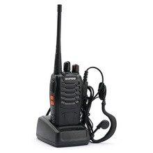 Baofeng BF-888S Walkie Talkie 5W UHF 400-470MHz Portable Baofeng 888S Two Way Radio 16CH FM Transceiver CB Ham Radio Interphone
