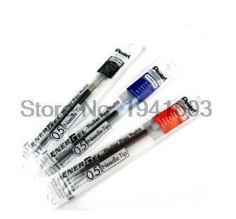 10 pcs/box Pentel LRN5 Liquid Gel Ink Refill for EnerGel Deluxe RTX Retractable Pens-Fast Drying- Needle Tip-0.5 mm pentel гелевая ручка energel цвет черный