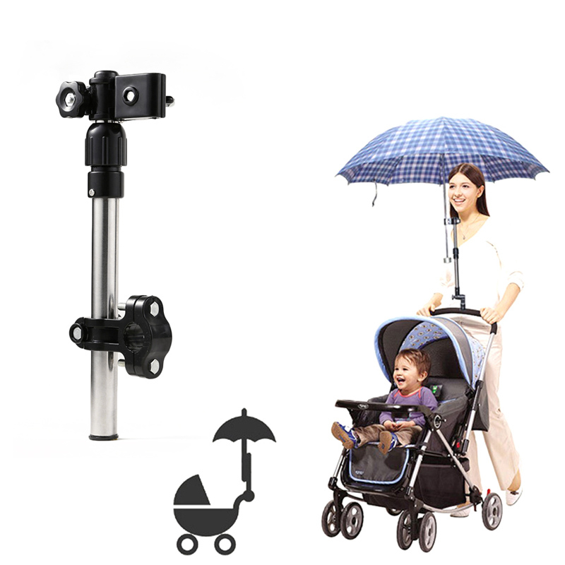 Toys & Hobbies 2018 Baby Infant Stroller Chair Umbrella Holder Bracket Pram Swivel Connector Angle Adjustable Stand Bar Holder Mount 88