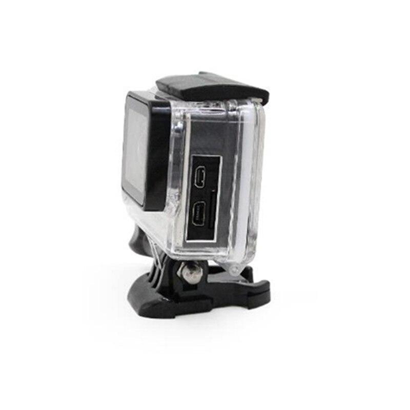 Carcasa protectora lateral abierta de esqueleto para GoPro Hero 4 3 + - Cámara y foto - foto 4