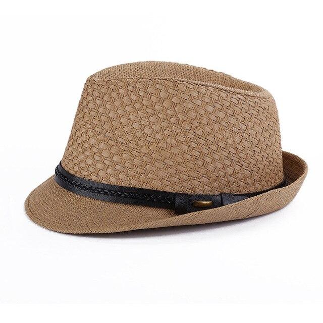 Surblue uomo estate tesa larga cappello di paglia adulto per le Donne Degli  Uomini ragazzi cappello 9e2d6add2bab