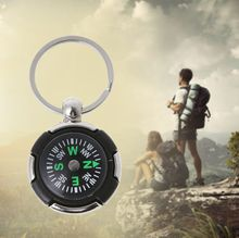 1 Pc  Easy Carrying Outdoor Camping Hiking Mini Compass Navigator Portable KeychainSurvival Tool Pratical Gift