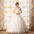 2016 New formal princess sweet double-shoulder tube top bandage wedding dress