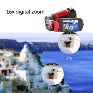 Image 3 - Видеокамера с цифровым зумом, высокое качество, Full HD, 1080P, 16 м, 16X, TPT, ЖК камера, DV, для путешествий, домашнего использования, фотографии
