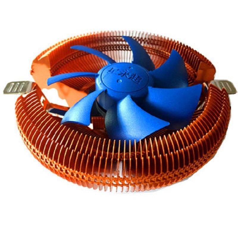 2pcs Computer CPU Cooler Ultra-Quiet Cpu Fan For Intel LGA775/1155/1156 AMD AM2/754/939/940 Desktop Computer S3 Copper pccooler ultra quiet 4pin fan cpu cooler radiator for intel lga 775 1155 1156 2011 amd am2 am3 fm1 am2 939 fans cooling
