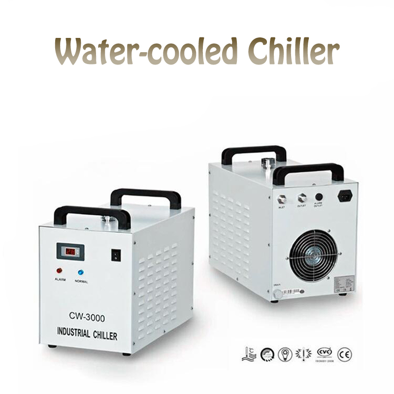Refroidisseur d'eau-Coo LED CW3000 lampe à LED UV solidifiant 220 V 50 HZ CW3000AG unité de refroidissement de l'eau