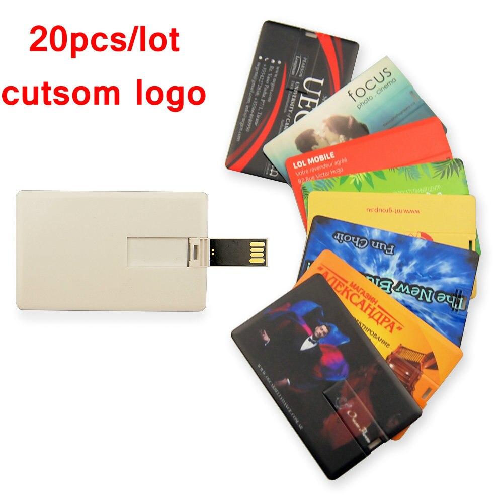 20pcs lot Customzie Logo Free USB Flash Pen Drive 4GB 8GB 16GB 32GB Free Shipping Usb