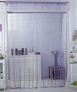 Image 5 - אופנה מחרוזת חלון דלת וילון עיוור פנל גדילים אלאנס חדר תפאורה סלון